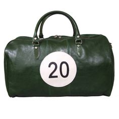 British Racing Green Holdall, by Caracalla Bagaglio