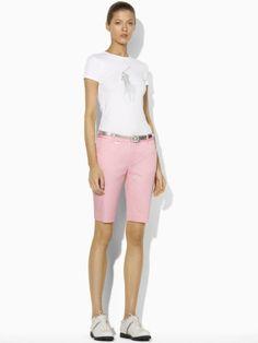 Birdie Cotton Short - Ralph Lauren Golf Shorts - RalphLauren.com