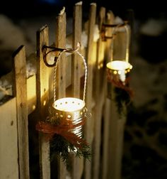 hemmagjorda lyktor vilken ide / homemade lanterns - BröllopsGuiden