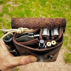 Tips And Strategies For Classical Music Leather Pouch, Leather Tooling, Bushcraft Gear, Bushcraft Camping, Edc Bag, Edc Everyday Carry, Cool Gear, Survival Gear, Outdoor Survival