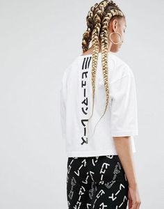 adidas Originals X Pharrell Williams – T-Shirt mit Grafik auf der Rückseite
