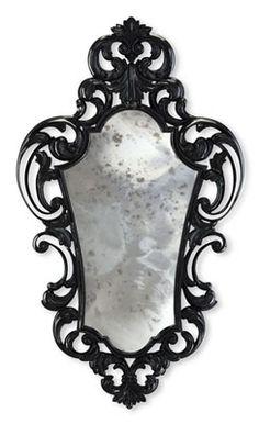 antique mirrored glass  #antique #mirror #vintage