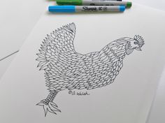 All Ages Coloring Page. Chicken Hen. Farmhouse. Animal Coloring. All Ages. Hospital Stay Gift. Recovery.  Stress Relief. Zen Meditation.https://www.etsy.com/listing/250527146/all-ages-coloring-page-chicken-hen