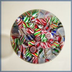 Paper weight - Christmas candies