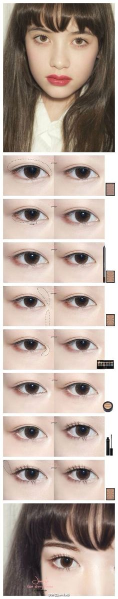 Luka eye make up