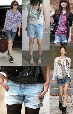 A moda de usar roupas mais largas e como se fossem do namorado, pegou mesmo. Foi só algumas famosas começarem a sair nas ruas, e dizerem que...