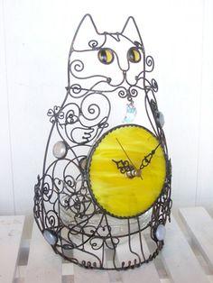 Wire Works | Galleria | Cat Craft kirjailija Shirai Hikari-ka