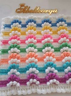 This Pin was discovered by emn Crotchet Stitches, Crochet Crocodile Stitch, Crochet Doilies, Crochet Flowers, Crochet Lace, Crochet Towel Holders, Crochet Kids Hats, Baby Blanket Crochet, Yarn Crafts
