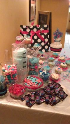 Candles For Gender Reveal By Crystal Gender Reveal Party Ideas