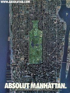 Absolut Manhattan « From up North | Design inspiration & news