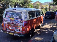 Do you ever wonder what animals would say if they could talk? Or vehicles? As I snapped this picture I wondered about the many fascinating tales this VW bus could tell. ~SHW.