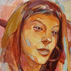 My sister Anna, by Kokoris Sisters, Anna, Illustrations, Artwork, Artist, Painting, Art Work, Work Of Art, Auguste Rodin Artwork