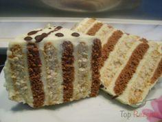 Zweifarbiger Kuchen ohne Backen | Top-Rezepte.de