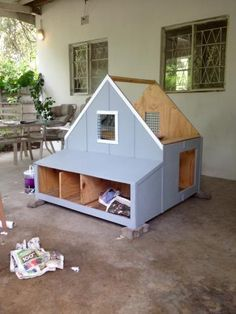 diy chicken coop from plywood