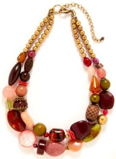 Chic, colorful and full of style! With two rows of multi colored beads, this choker necklace is the perfect go-to accessory to jazz up your outfit. Necklace measures 19 in. with a 4 in. extender.