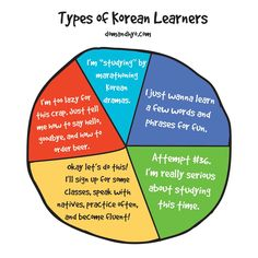 Types of Korean Learners