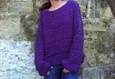 Pullover & Pullunder - Pullover Wolle lange vest - ein Designerstück von Vanja-2 bei DaWanda