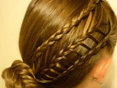Hairstyles For Girls With Long Hair: Arrow Braid