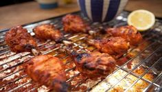 Homemade tandoori chicken