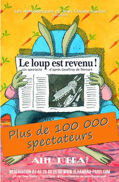 LE LOUP EST REVENU ! Paris, Comic Books, Comics, Hilarious, Wolves, Montmartre Paris, Paris France, Cartoons, Cartoons