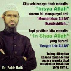 """Dr.zakir naik said........."""""""