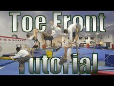 """This is a """"how to Toe on-Toe off Frontflip Tutorial."""" I've taught Gymnastics, Parkour, Frerunning, Tumbling, and Tricking for the past 5 years at Greenville . Gymnastics Trampoline, Parkour, The Past, Knowledge, Toe, Teaching, Youtube, Education, Youtubers"""