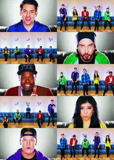 I wasn't really keen on the song, but they did an awesome cover on it (as usual), and I loved all the color coordination in the video.