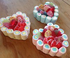 Norfolk Sweet Cakery - Mini Heart Sweetie Cakes