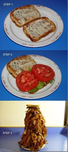 The correct way to make a BLT