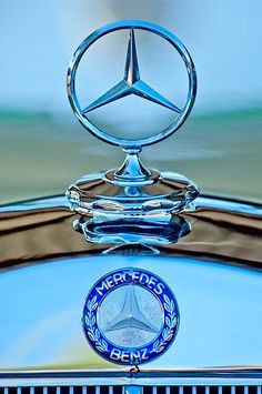 Mercedes Benz Hood Ornament 1 by Jill Reger | See more about Hood Ornaments, Mercedes Benz and Hoods.