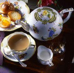 4:00 Tea...Herend...Elegant Tea Set for Afternoon Tea