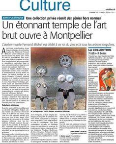 Fernand Michel Sculpture au musee d Art Brut & Singulier de Montpellier Parution