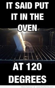 Who cooks at 120 deg?!?! How long are you cooking for, 18 hours? Just put it on your roof or breathe heavy on it.