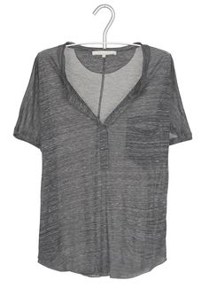 Tee-shirt ample Gris by LA FEE MARABOUTEE