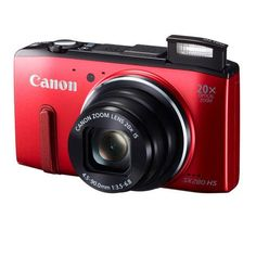 Canon PowerShot SX280 HS Red Digital Camera - 8225B001 $299.00 #coupay #photography