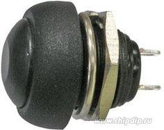 PBS33B (черная), Кнопка OFF-(ON) (1A 250VAC)