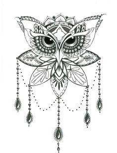owl, coruja, owl tattoo, tattoo, tatuagem, feminina