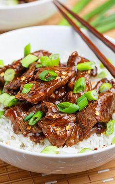 20 Minute Light Mongolian Beef Recipe
