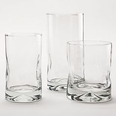 Impressions Clear Barware, Sets of 4 or Pitcher | Everyday Drinkware | World Market
