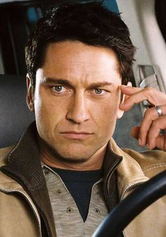 Gerard Butler... Breaks my heart to see him without the scruffy beard...but clean-shaven, I think he might work for Elliot Owens.
