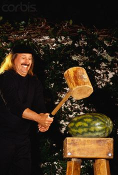 gallagher comedian smashing watermelons - Google Search