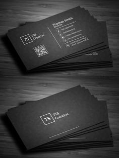 Modern Dark Pixels Business Card #businesscard #psdtemplate #visitingcard #printready #elegantdesign #branding
