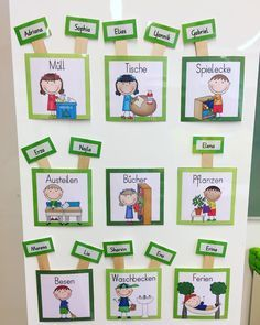 Top 40 Examples for Handmade Paper Events - Everything About Kindergarten Classroom Jobs, Classroom Organisation, Classroom Decor, Classroom Management, Kids Education, Special Education, Early Intervention Program, Class Decoration, Kids Behavior