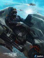 Galaxy Saga (applibot) UPR Soldiers advanced by ~djahal on deviantART