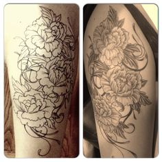 Thigh tattoo! <3