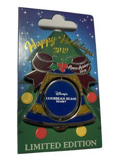 Pirate Mickey Mouse Disney Caribbean Beach Resort Holiday Bell Pin LE 1,250 | eBay Caribbean Beach Resort, Beach Resorts, Mickey Mouse Pins, Christmas Characters, Pirates Of The Caribbean, Disney Pins, Handmade Items, Holiday, Ebay