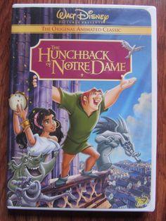 HUNCHBACK OF NOTRE DAME DVD LIKE NEW DISNEY ANIMATED ALEXANDER MOORE KLINE OOP