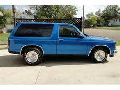 1983 Chevy S10 Blazer 4x4 - Bing Images
