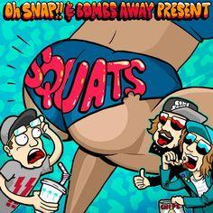 Kronic, Oski, Klaus Hill 'Fidget Flashback, Bounce Inc., Social Hooliganz, Oh Snap!, Sarah Robertson, Bombs Away, Oh Snap! — Squats (Remixes Part 1) [Central Station Records] :: Beatport
