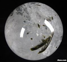 Tourmaline Quartz Crystal Ball